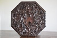 Anglo Indian Carved Table with Octagonal Top (4 of 10)