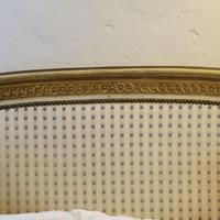 Louis XVI Style Bed with Upholstered Panels (5 of 10)