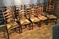 Large Oak Extending Dining Table (18 of 18)