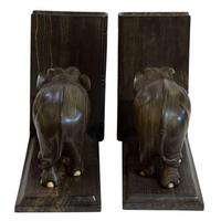 Fine Quality Pair of Edwardian Elephant Bookends (3 of 3)