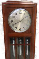 Art Deco Eight Day Chiming Longcase Clock, Fabulous Piece (11 of 13)