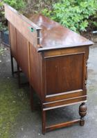 1940s Oak Sideboard with Back - Good Storage (5 of 5)