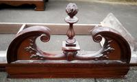 Large Edwardian Walnut Princess Wardrobe (6 of 10)