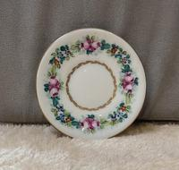 Limoges Hand Painted Miniature Cup and Saucer (3 of 6)