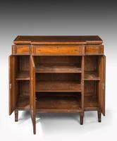 Regency Period Mahogany Breakfront Side Cabinet (5 of 6)