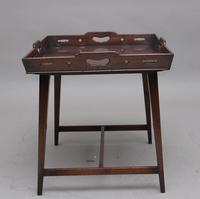 Early 19th Century Mahogany Tray Top Table (3 of 6)