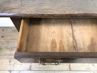 Antique 19th Century Oak Side Table (6 of 12)