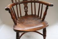 Yew & Ash Wood Child's Windsor Chair (5 of 5)