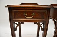 Pair of Antique Chippendale Style Mahogany Bedside Tables (7 of 12)