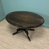 Stunning Victorian Oval Antique Dining Table (2 of 9)