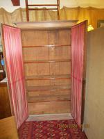 Victorian Limed Oak Glazed Bookcase (2 of 5)
