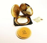 1950s Blue Enamel Stratton Compact Mirror with Butterfly Unused (5 of 8)
