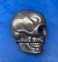 Rare Victorian Skull Vesta (10 of 15)