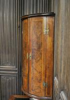 Antique Burr Walnut Corner Cupboard (5 of 9)