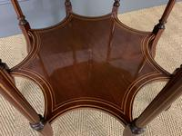 Edwards & Roberts Inlaid Mahogany Centre Table (13 of 15)