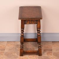 Carved Oak Joint Stool (6 of 15)