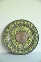 Indian Decorative Copper & Brass Tray (4 of 11)