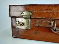 Large Leather Vintage Suitcase (4 of 10)