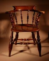 Captains / Smokers Bow-back Armchair (2 of 14)