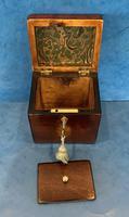 18th Century Harewood Inlaid Single Mahogany Tea Caddy (15 of 18)