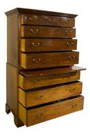 18th Century Mahogany Chest on Chest (3 of 8)
