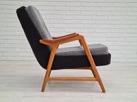 Danish Design, 60s, Completely Restored Armchair, Furniture Wool (2 of 16)