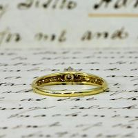 The Vintage Ornate High Rise Diamond Ring (5 of 5)