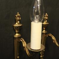 French Pair of Single Arm Antique Wall Lights (3 of 10)