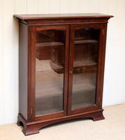 Edwardian Mahogany Glazed Bookcase c.1910 (4 of 11)