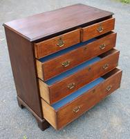 1880 Quality Oak Chest of 5 Drawers (2 of 4)