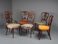 Set of 6 Mid Victorian Rosewood Dining Chairs (3 of 14)