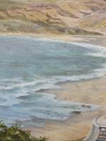 Oil on Canvas Cornish Seascape Artist M M Tomlinson (8 of 10)