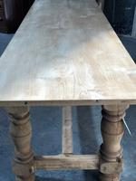 French large oak farmhouse dining table (15 of 38)