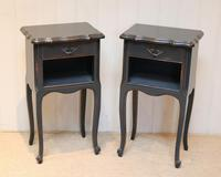 Pair of Painted Bedside Cabinets (3 of 9)