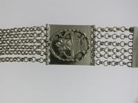 Silver T-bar Pocket Watch Chain (2 of 5)