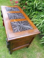 Country Oak Cottage Coffer 1860 (3 of 12)