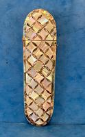 Victorian Mother of Pearl & Abalone Spectacle Case (9 of 17)