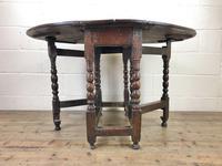 18th Century Antique Oak Gateleg Table (2 of 10)