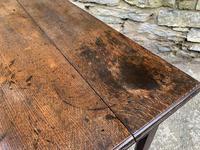 Antique Georgian Oak Side Table (8 of 14)