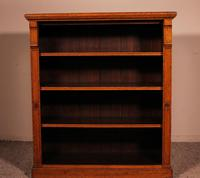 Open Bookcase in Light Oak 19th Century - England (11 of 11)