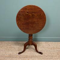 Quality Georgian Cuban Mahogany Antique Tilt Top Tripod Occasional / Lamp Table (7 of 7)