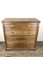 Large Antique Ash Chest of Drawers (2 of 10)