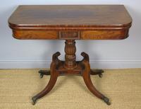 Elegant Regency Mahogany Side / Tea Table (6 of 7)
