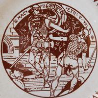 "19th Century ""Macbeth"" Pierced Plate (2 of 5)"