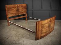 Art Deco Walnut Standard Double Bed (7 of 11)