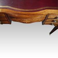 Edwardian Inlaid Rosewood Writing Table (4 of 12)