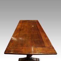 Edwardian Oak Refectory Table (7 of 10)