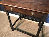 Oak Hall Table (6 of 9)