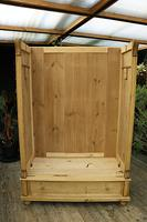 Fabulous & Large Old Pine Double 'Knock Down' Wardrobe - We Deliver! (9 of 18)
