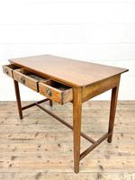 Antique Mahogany Side Table with Drawers (9 of 10)
